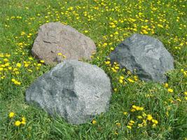 Искусственные камни (валуны) на люки